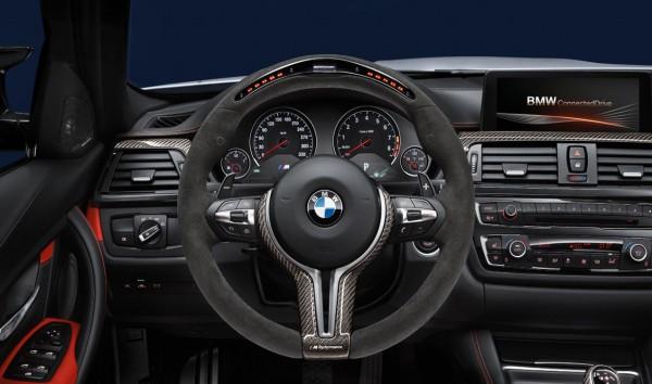 BMW M Performance Lenkrad Alcantara Display M3 F80 M4 F82 F83 inkl. Carbonblende
