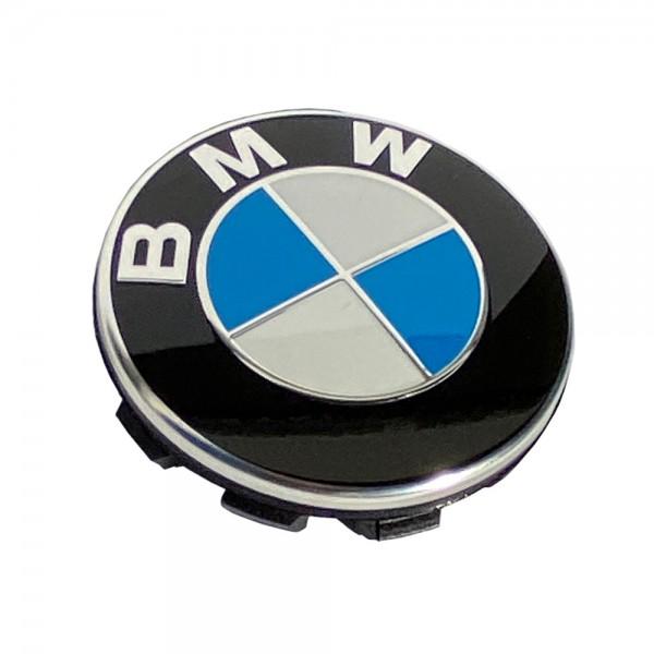 BMW Nabenabdeckung mit Chromrand Ø 67 mm