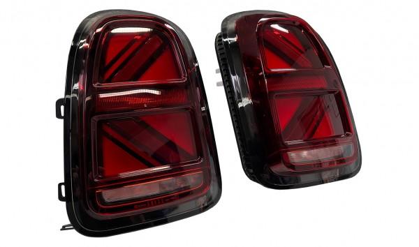 MINI F60 UNION JACK Black Facelift Heckleuchten Nachrüstsatz