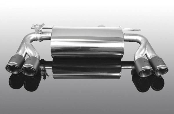 AC Schnitzer Endschalldämpfer BMW M2 F87 mit Carbon Endrohrblenden