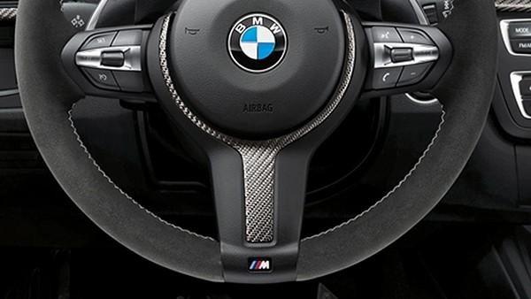 BMW M Performance Lenkradblende Carbon F-Serie