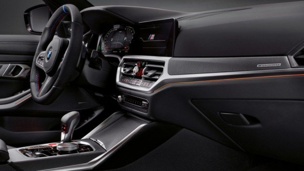 BMW M Performance Interieurblenden Carbon/Alcantara Satz 3er G20 G21 M3 G80 4er G22 G23 M4 G82 G83