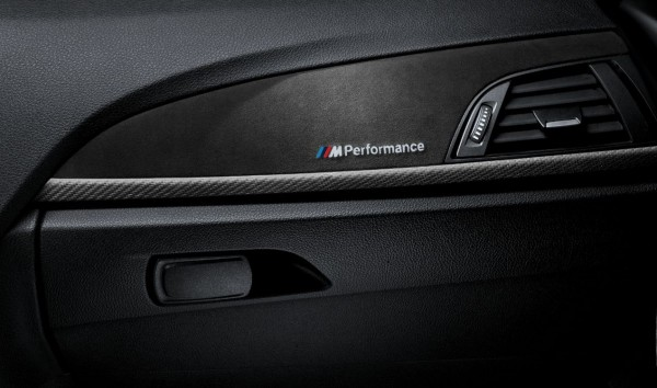 BMW M Performance Satz Interieurleisten (Alcantara / Carbon)
