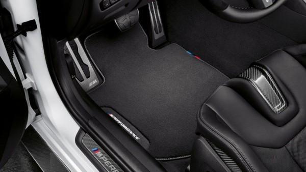 BMW M Performance Satz Fussmatten vorne hinten 4er M4 G22 G82
