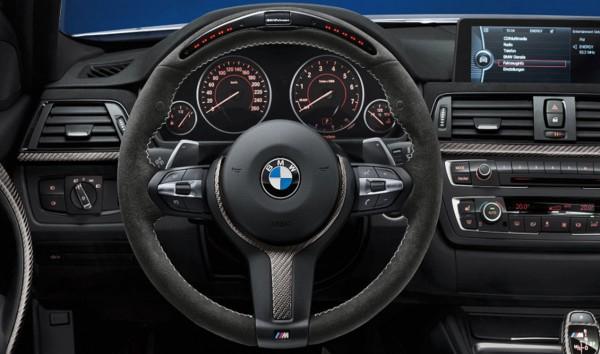 BMW M Performance Lenkrad II inkl. Carbonblende mit Racedisplay F-Serie