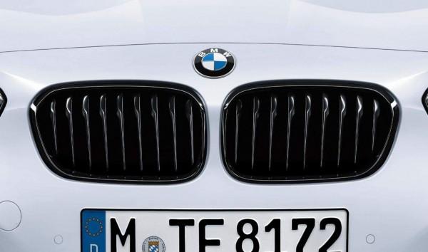 BMW M Performance Satz Frontziergitter (Nieren) schwarz 1er F20 LCI F21 LCI