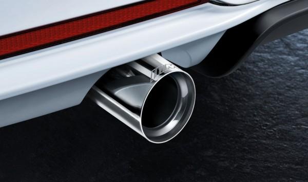 BMW M Performance Satz Endrohrblenden Chrom F-Serie