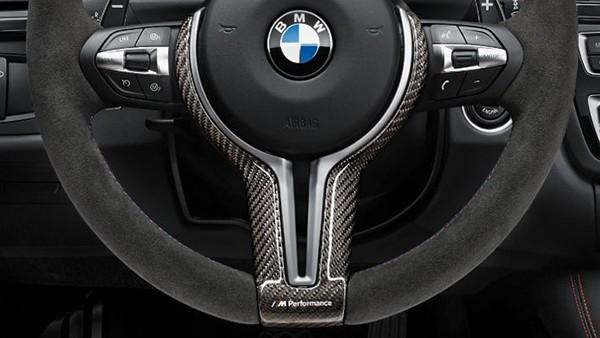 BMW M Performance Lenkradblende Carbon glänzend F80 M3 F82 M4