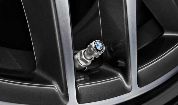 BMW Ventilkappen mit BMW Logo