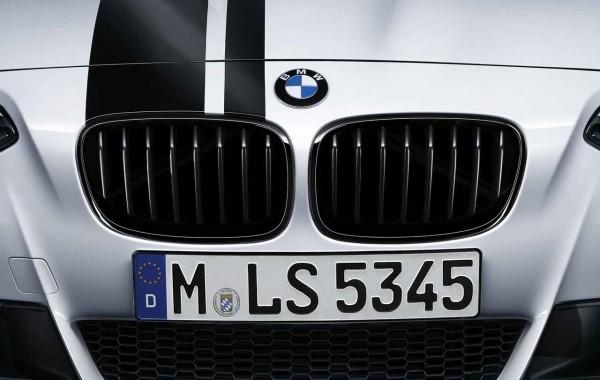 BMW M Performance Satz Frontziergitter (Nieren) schwarz 1er F20 F21