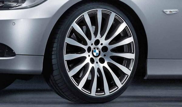 "BMW Schmiederad Radialspeiche Bicolor Styl. 190 (8X19"" ET37 / 9x19"" ET39 ) 3er E9-Reihe"