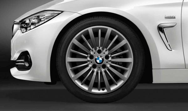 """BMW LM Rad Vielspeiche 416 Ferricgrey-Glanzgedreht (8X18"""" ET34) 3er 4er F-Serie"""