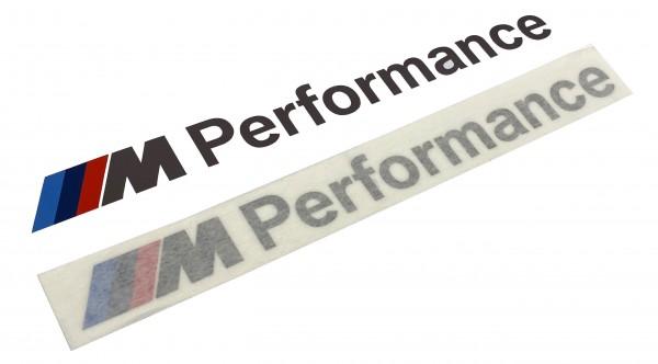 BMW M Performance Satz Aufkleber