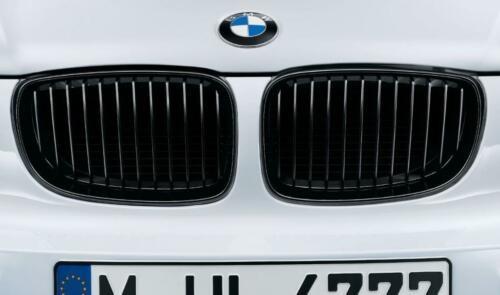 BMW Performance Satz Frontziergitter (Nieren) schwarz 1er E-Serie