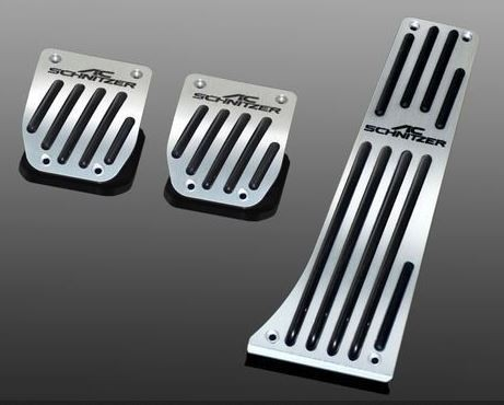 AC Schnitzer Pedalauflagen Aluminium Schaltgetriebe
