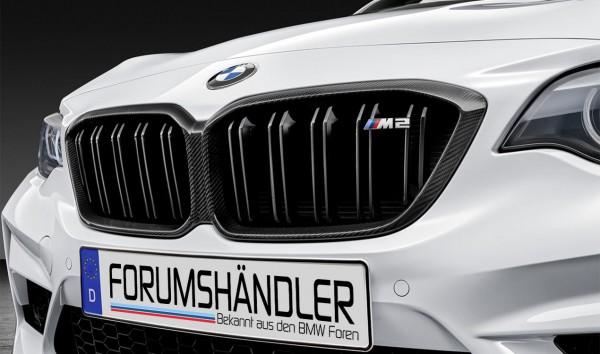 BMW M Performance Frontziergitter Carbon M2 F87 LCI