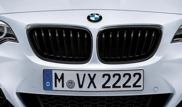 BMW M Performance Satz Frontziergitter (Nieren) schwarz 2er F22 F23